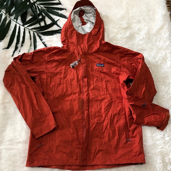 Patagonia Other - Patagonia H2NO Windbreaker Rain Jacket Compass XL